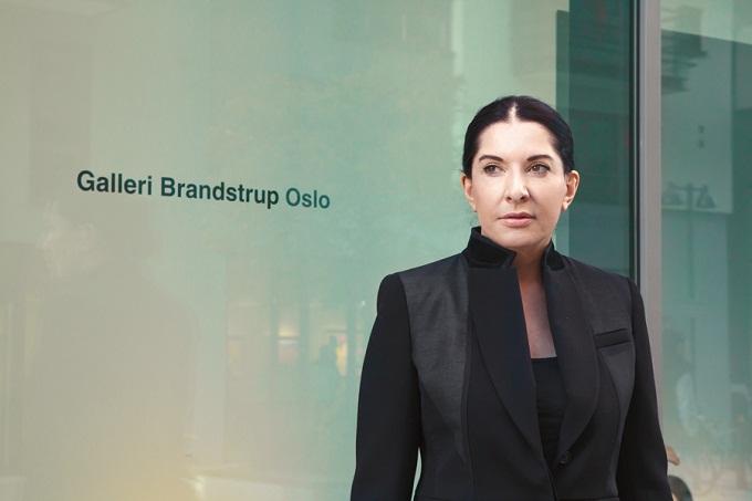 Marina Abramovic i Oslo nylig