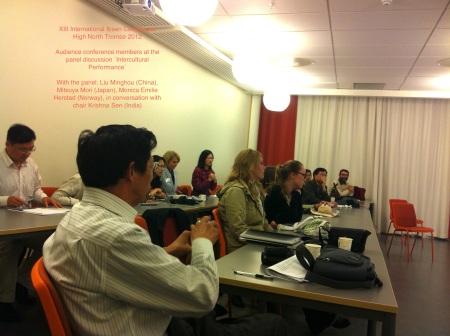 Audience Minghou, Monica, Mori Seminar XIII Ibsen 2012