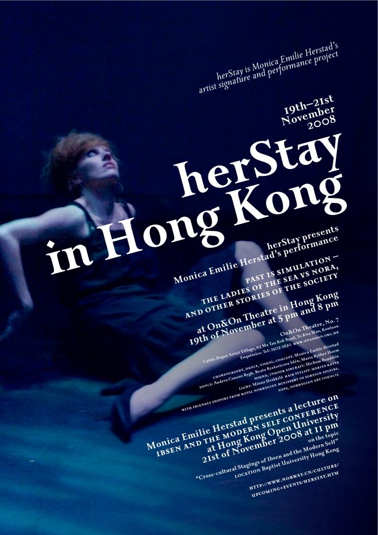 Monica Emilie Herstad in HK