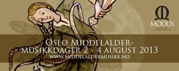 Oslo Tidligmusikk Dager 2013