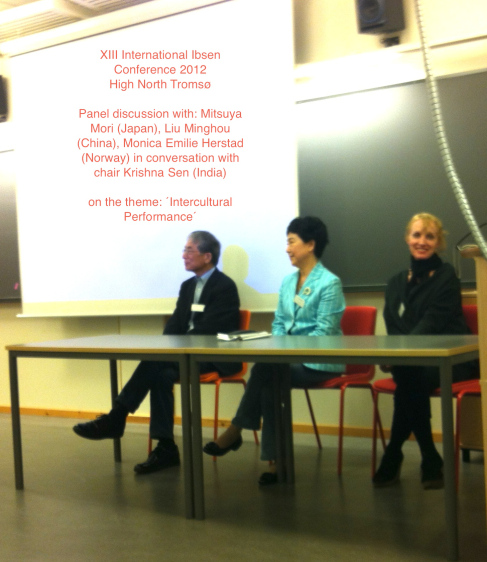 super-high-north-tromsc3b8-xiii-international-ibsen-conference-intercultural-performance-seminar-mori-minghou-monica-krishna-2012-2