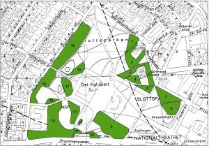 Slottsparken-kart