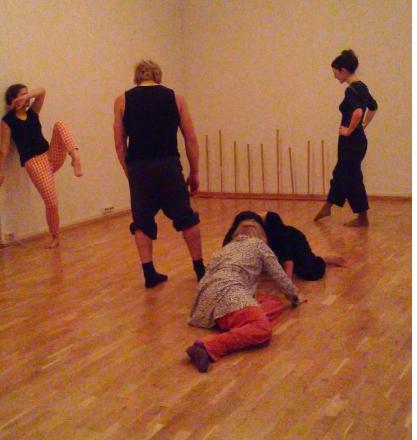 herStay preparing for tour 2016 rehearsal November 2015